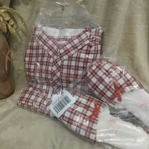 VS flannel pajama set-large